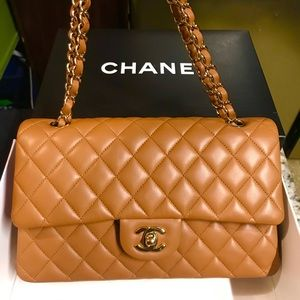 New 100% Authentic Chanel Double Flap 2.55 Bag